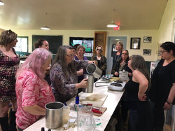 Hands on workshops with Charlene Freedom