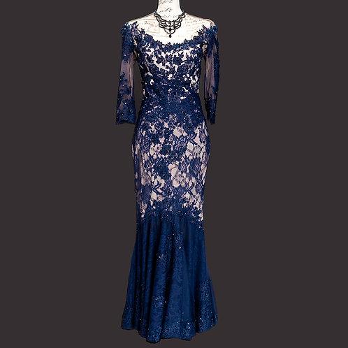 0213 YRUS MANDALAY BLACK TIE DRESS