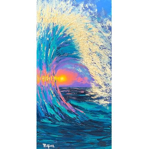 Sunlight Barrel Wave