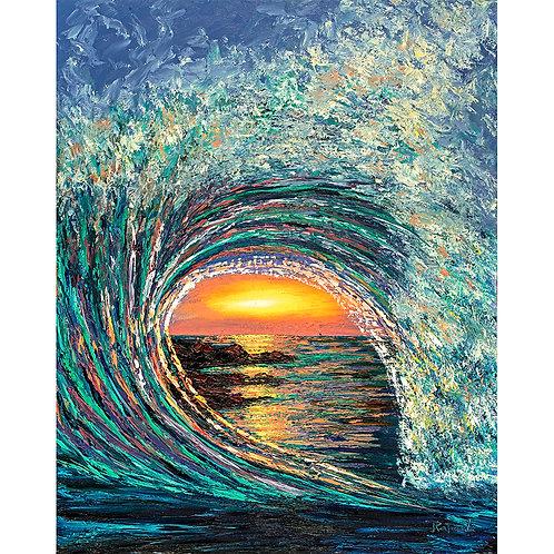 Sunset Wave #1