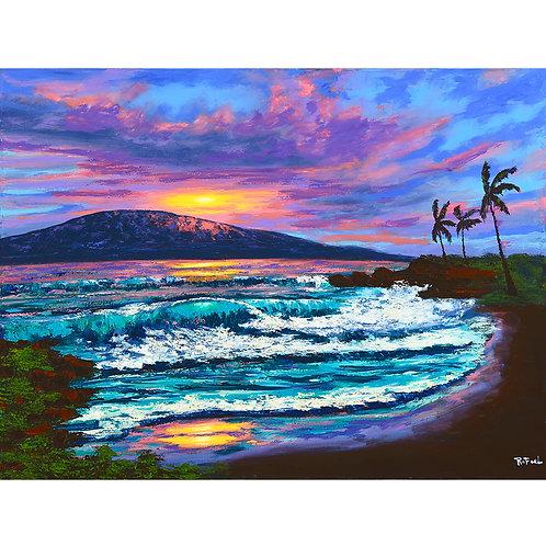 Lahaina Shore Sundown