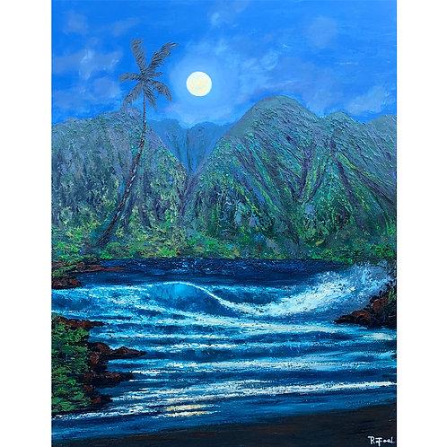 West Maui Golden Moon