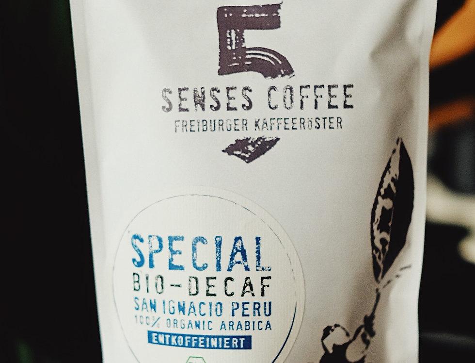 5 Senses Special Bio-Decaf Peru