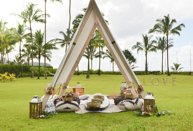 Luxe Outdoor Styling