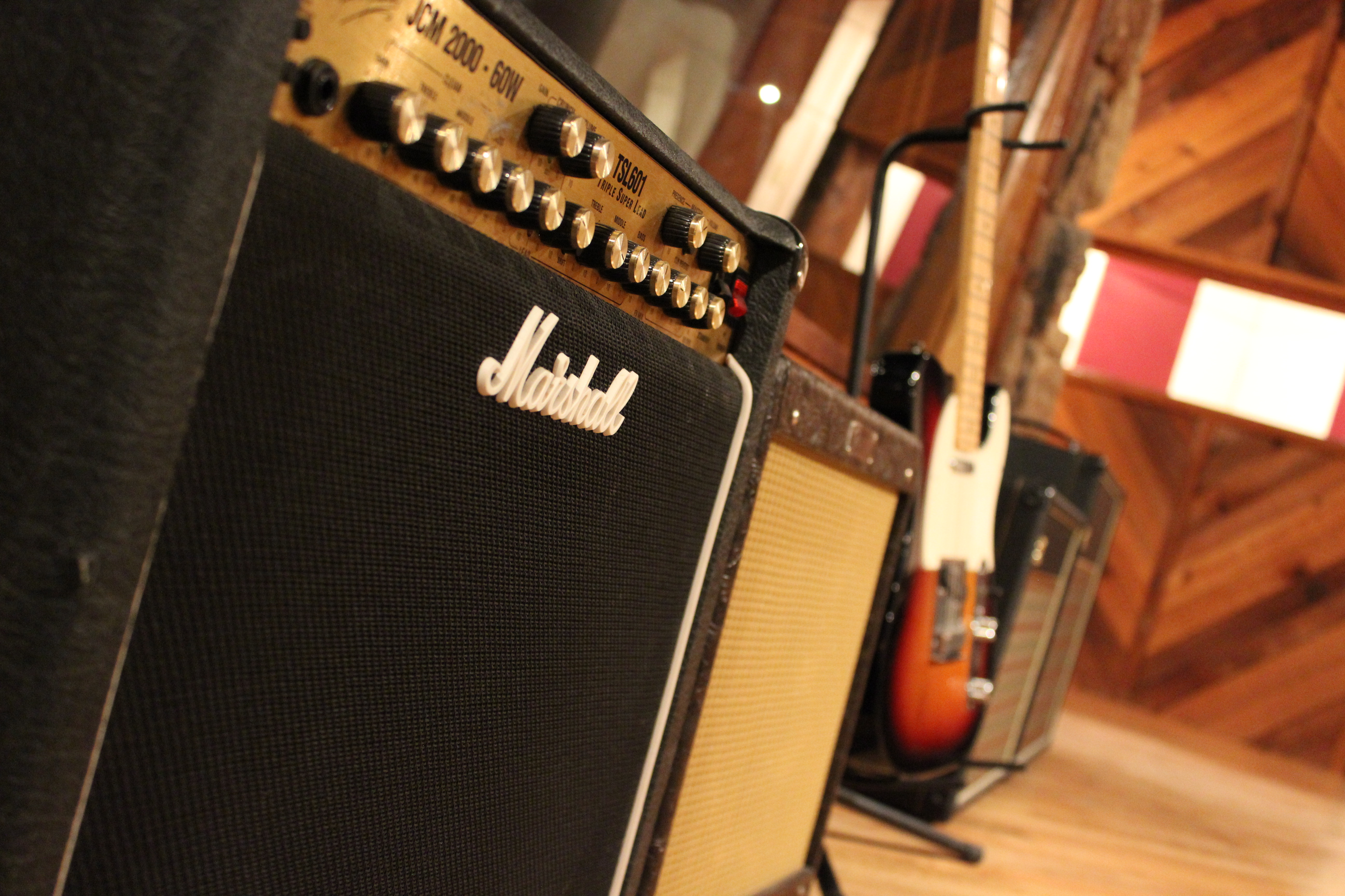 Studio A Amps/Guitars