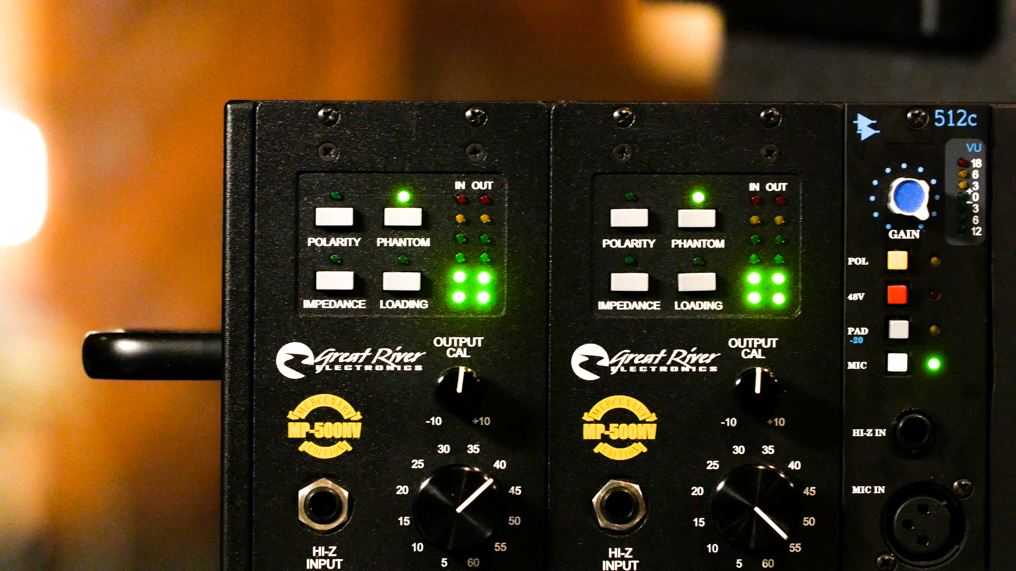 Great River MP-500NV Preamps