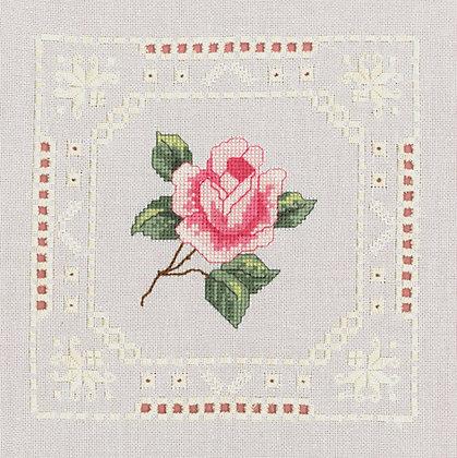 Hardanger Pink Rose