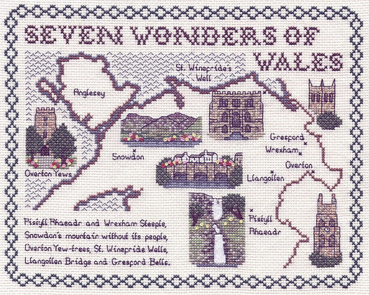 The Seven Wonders of Wales