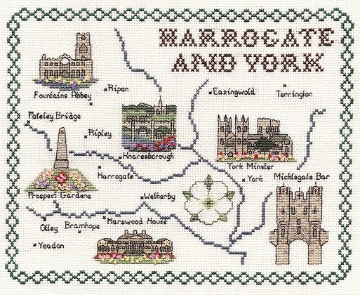 Harrogate & York
