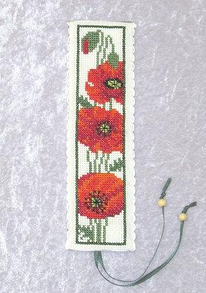 Poppies Bookmark