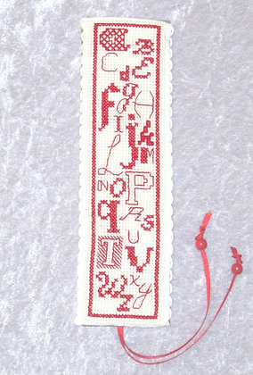 Alphabet Bookmark