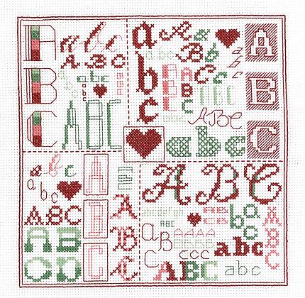Four Coloured Alphabet