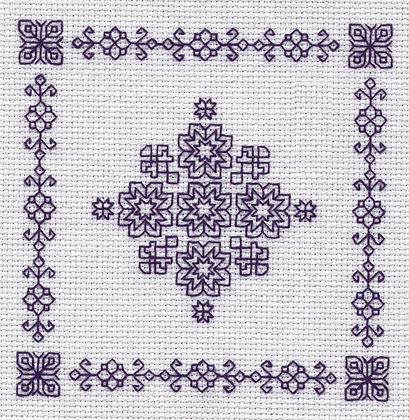 Blackwork Minis - Snowflake