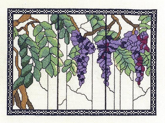 Tiffany Window - Wisteria