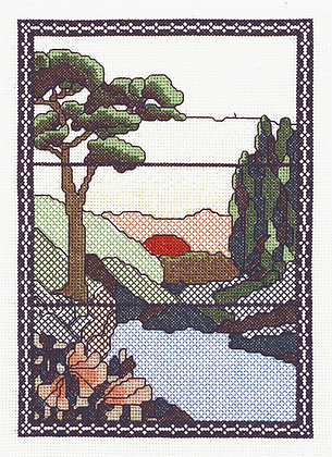 Tiffany Window - Sunset