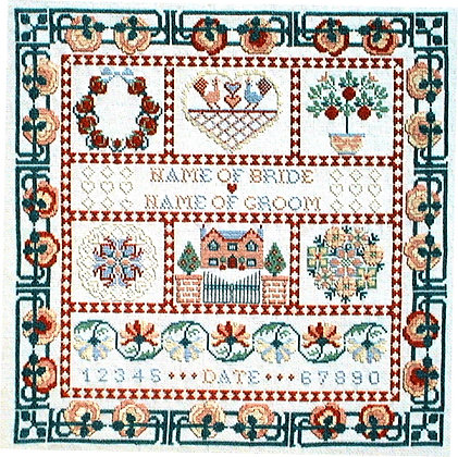 Wedding Quilt Sampler