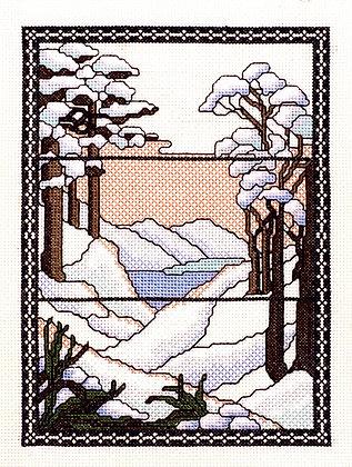 Tiffany Window - Snow