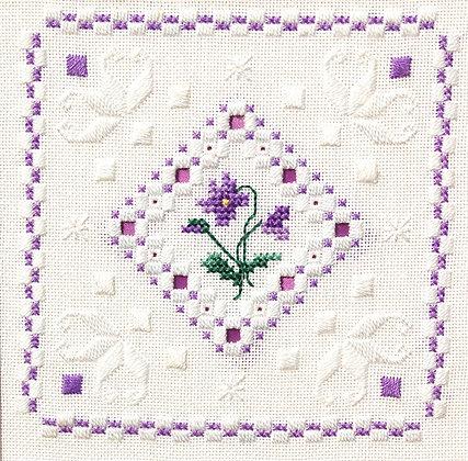 Hardanger Violets