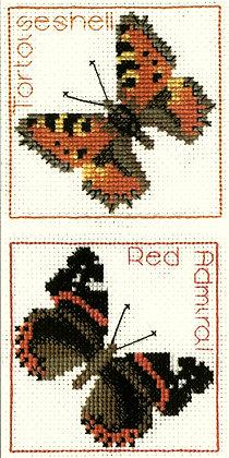 Tortoiseshell / Red Admiral Coasters
