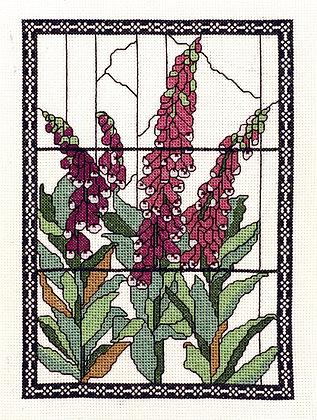 Tiffany Window - Foxglove