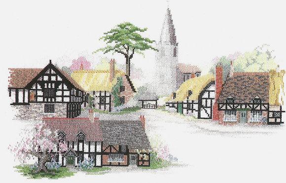 Herefordshire Village