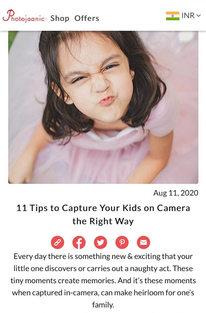 Photojaanic Article Blog