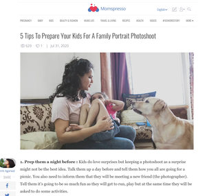 Article on Momspresso