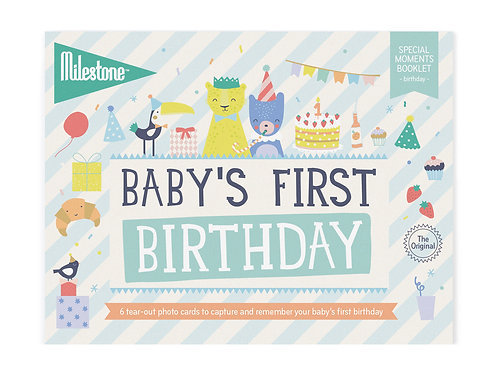 Booklet - Baby's First Birthday