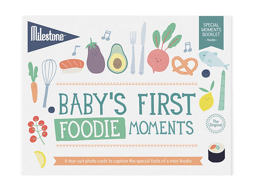 Booklet - Baby's First Foodie Moments