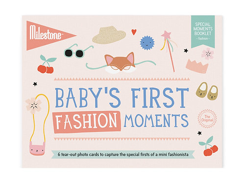 Booklet - Baby's First Fashion Moments