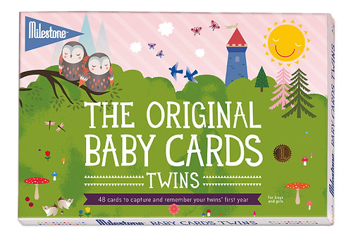 Original Baby Cards TWINS by Milestone™