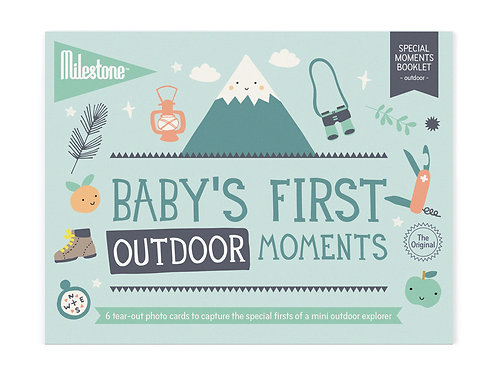 Booklet - Baby's First Outdoor Moments