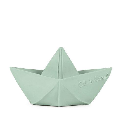 Origami Boat - Mint