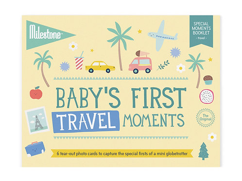 Booklet - Baby's First Travel Moments