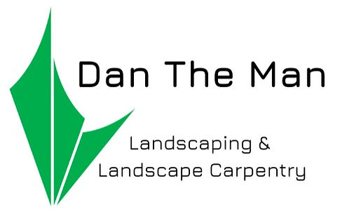 Dan The Man Landscaping Logo