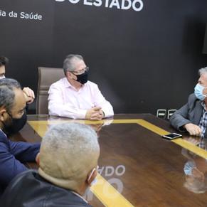 SECRETÁRIO DE SAÚDE ESTUDA A REABERTURA PROVISÓRIA DO PS DO HOSPITAL GERAL DO GRAJAÚ