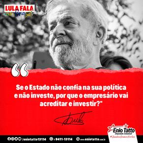 LULA FALA AO BRASIL