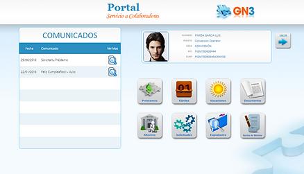 Acceso intuitivo al Portal del Empleado