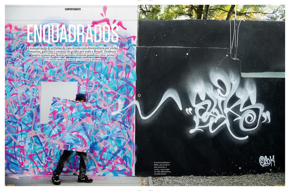 Revista Gol/ Street Art