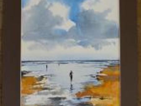 A few paintings at Saunton Beach.