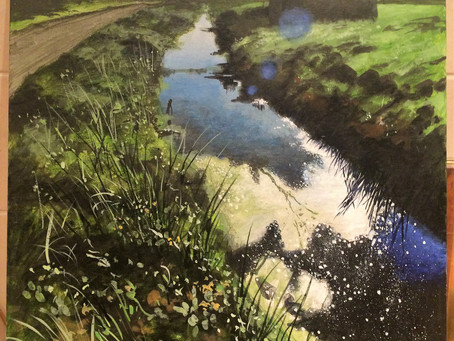 The linhay on Braunton Marsh.
