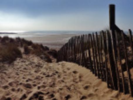 Croyde Beach and Winter Sunshine.