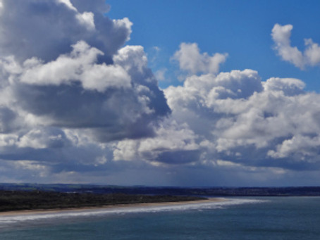 A walk from Saunton Beach to Croyde.