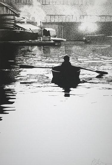 Boy In A Boat.