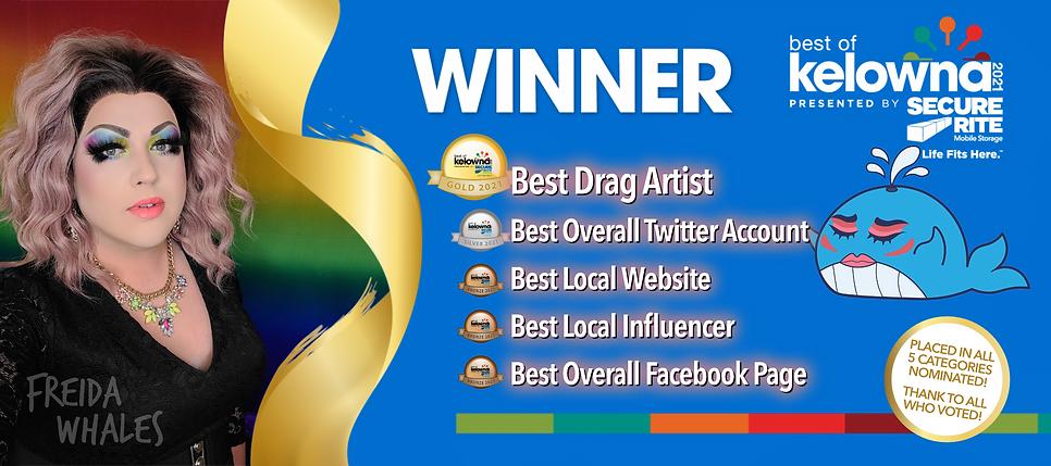Freida Whales - Best of Kelowna Winner