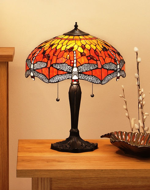 70 Dragonfly flame small table 60W SW.jp