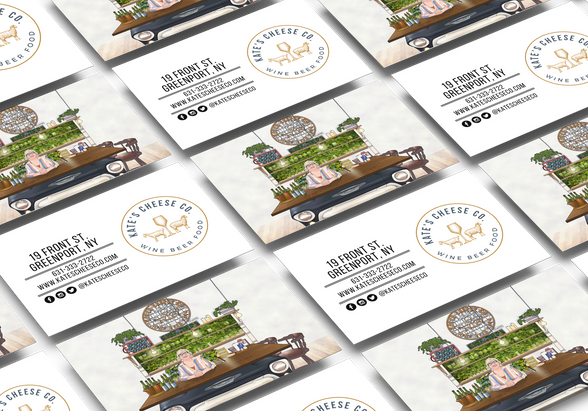 Kate's Cheese Co Business Cards