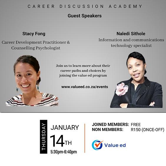Career Academy w/ Stacy Fong & Naledi Sithole