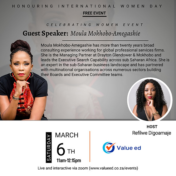 Celebrating Women (Internationals Woman Day)