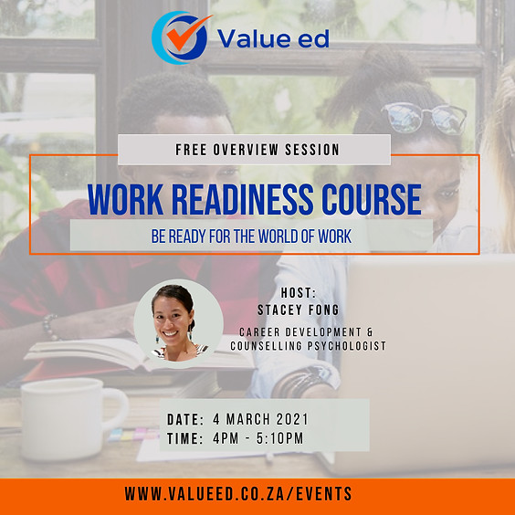Work Readiness Course Overview